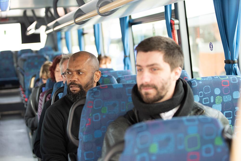Voyageurs bus Galéo