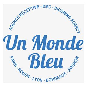 Logo Un monde bleu